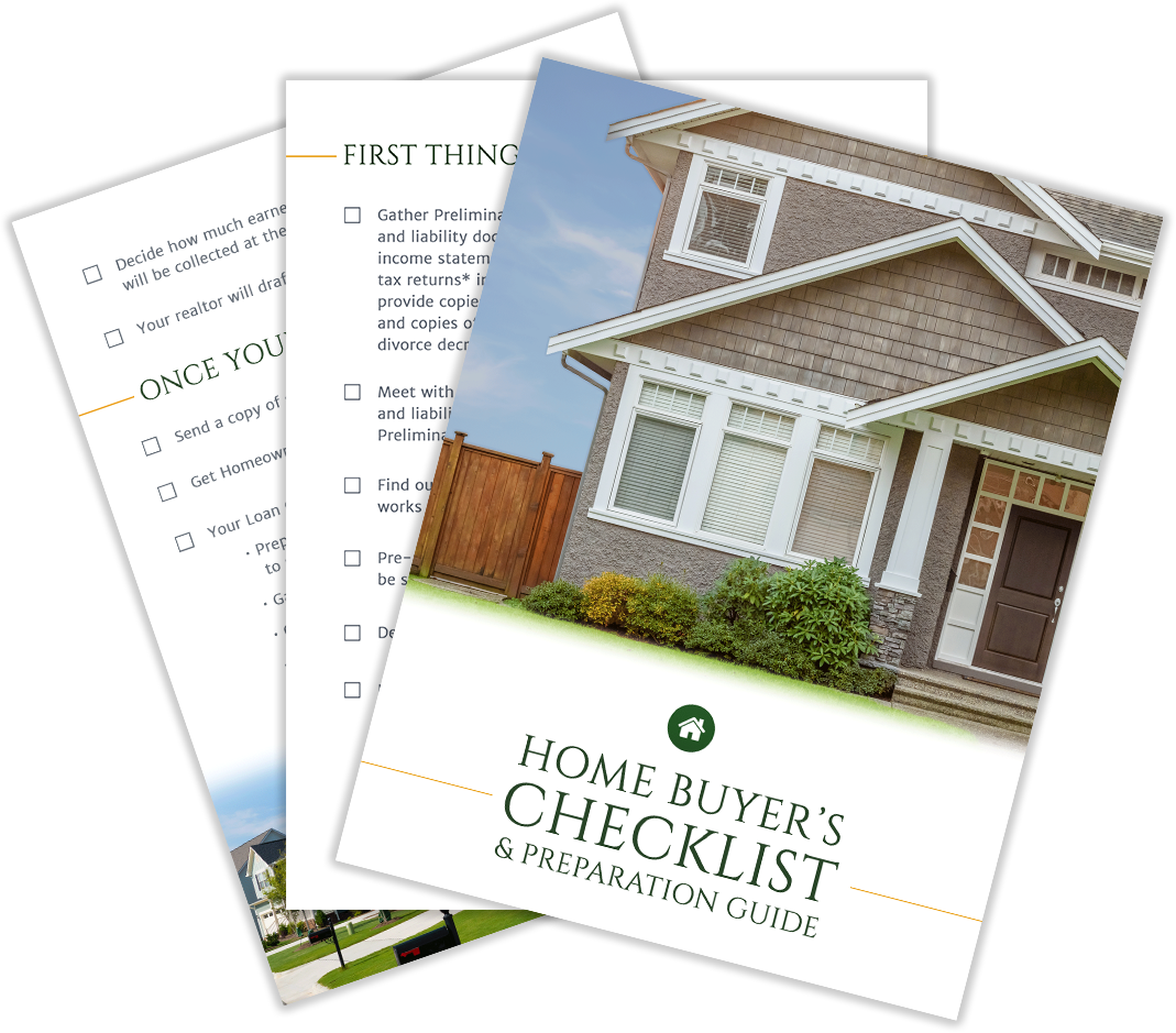 Lend Smart Home Buyer's Checklist
